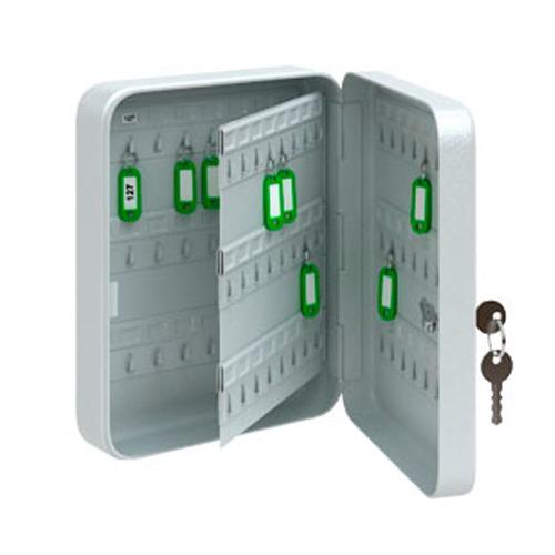 Металлический шкафчик для ключей, 30х8х24 см, КС-96