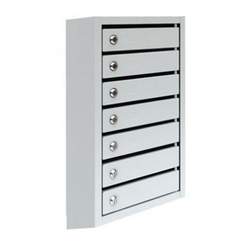 Металлический почтовый ящик, 38,5х19,5х77 см, ПМ-7