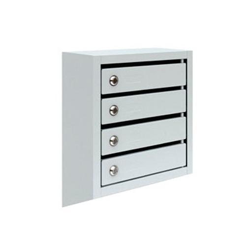 Металлический почтовый ящик, 38,5х19,5х50 см, ПМ-4