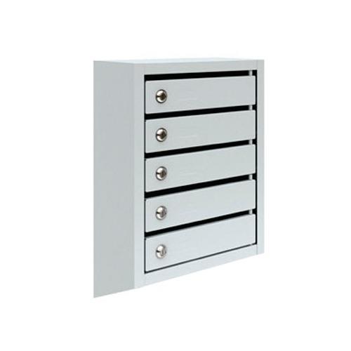 Металлический почтовый ящик, 38,5х19,5х59 см, ПМ-5