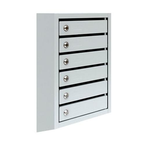 Металлический почтовый ящик, 38,5х19,5х68,5 см, ПМ-6