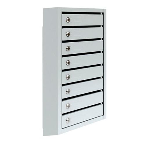Металлический почтовый ящик, 38,5х19,5х86 см, ПМ-8