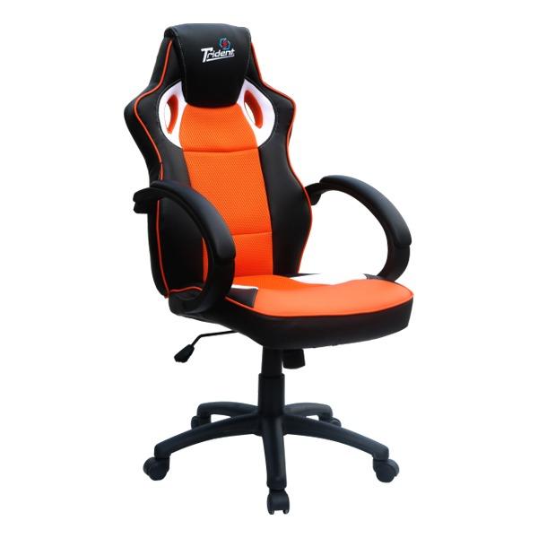 Кресло Trident GK-0808 Orange and Black